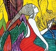 """""""בעמק יפה בין כרמים ושדות"""" - תערוכת איור ספרי ילדים, מנשר לאמנות"""