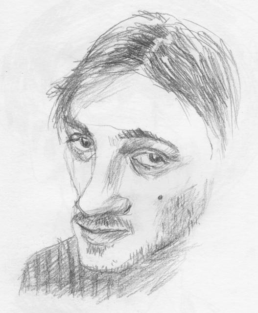 רישום בעפרון: מיכל בוננו