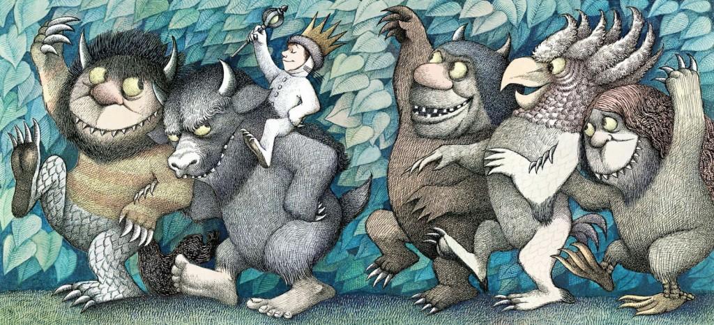 """מתוך: """"ארץ יצורי הפרא"""", מוריס סנדק"""