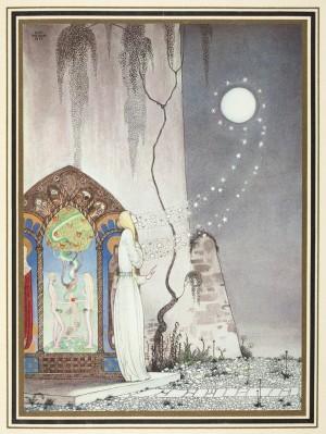 """איור של קיי נילסון, 1914. אוסף הספרייה הלאומית של ניו זילנד. (דימוי שנבחר ללוות את הטקסט שהתפרסם ב""""אלכסון"""")"""