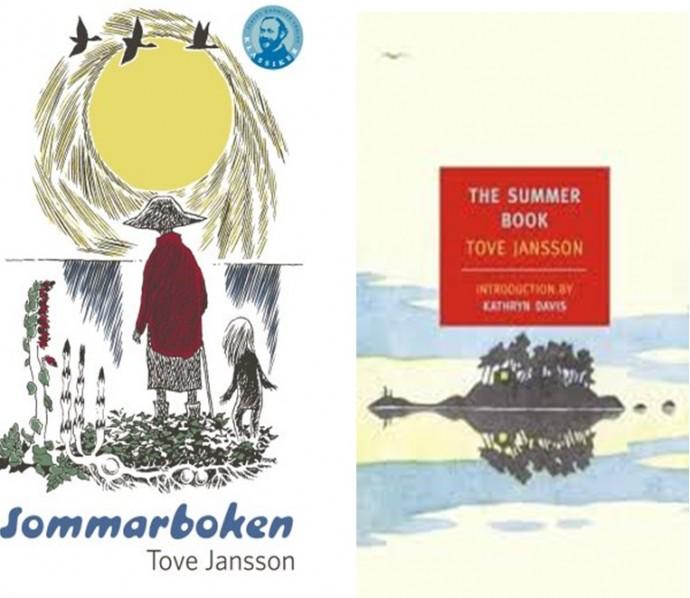 מימין לשמאל: המהדורה האנגלית של הספר, המהדורה השוודית המקורית