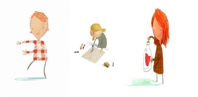 דמויות ילדים מספרים אחרים שג'פרס אייר