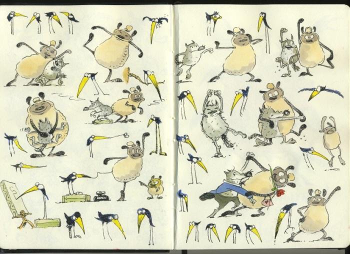 David sketchbook1