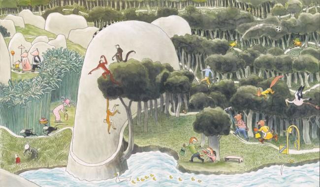 המלצות לשבוע הספר – ספרי ילדים מאוירים