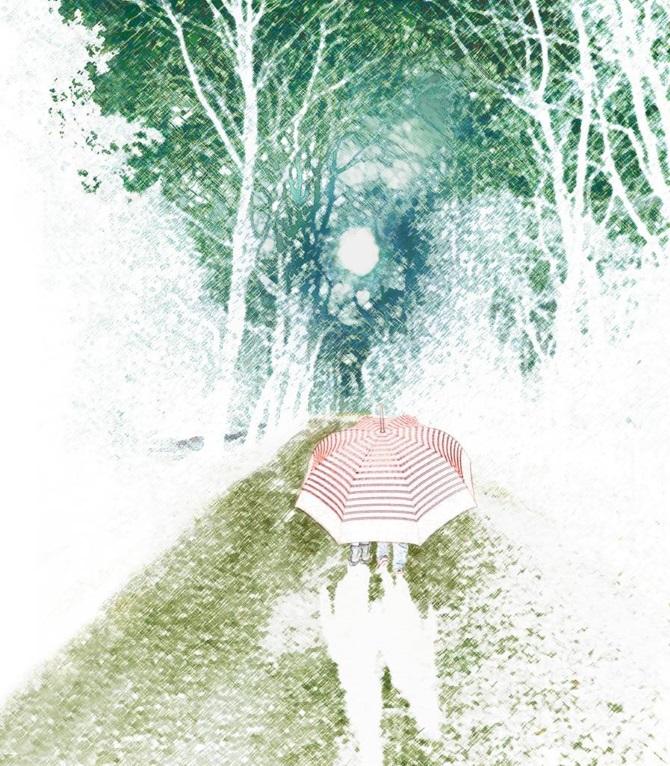צילם של אלינור מילצ'ן מתוך הספר