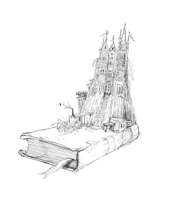 רישום של תמי בצלאלי לאחד האיורים בספר