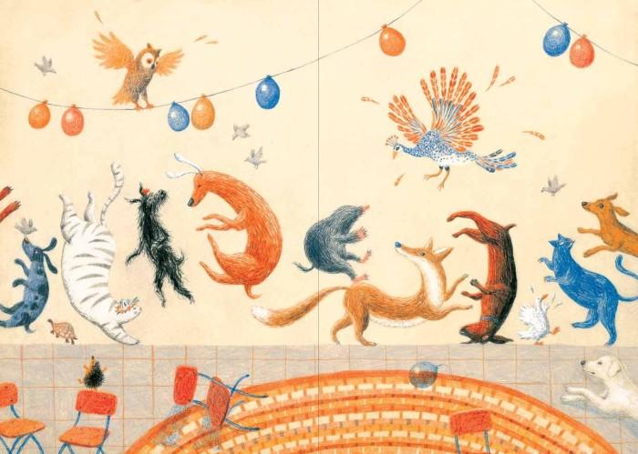 """כפולות ללא מילים בחגיגה הפסטיבלית. מחווה ל""""ארץ יצורי הפרא"""" של מוריס סנדק, שלו גם מוקדש הספר"""