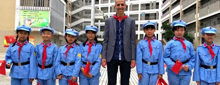 הרפתקאות דוד אריה בסין