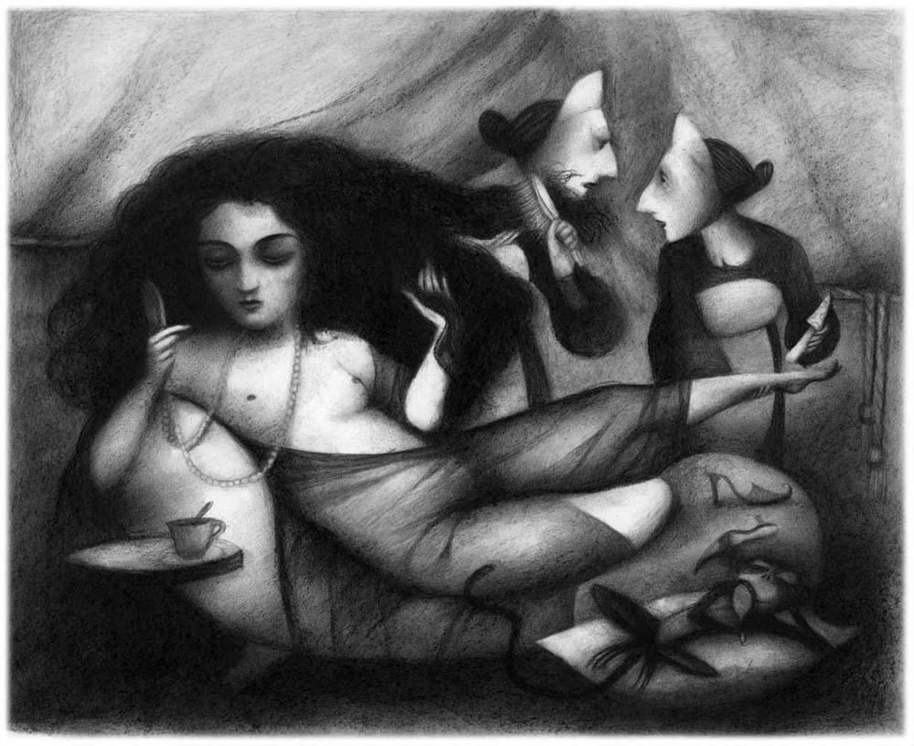 imagen de Snow White de Ana Juan