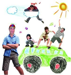 חמישה ילדים ואוטו - מופע מוזיקלי לילדים