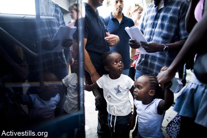 גירוש מבקשי מקלט לדרום סודאן, 2012 (Activestills)