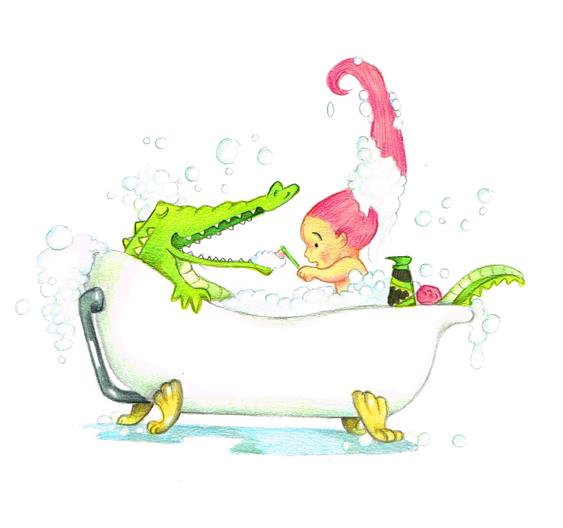 amalia and the croc 1