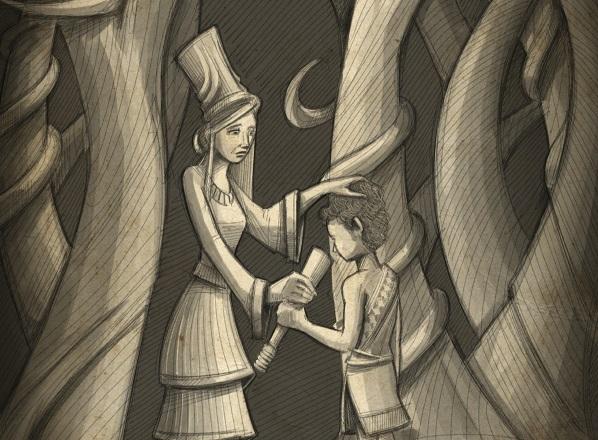 גילגמש הצעיר והגן המכושף