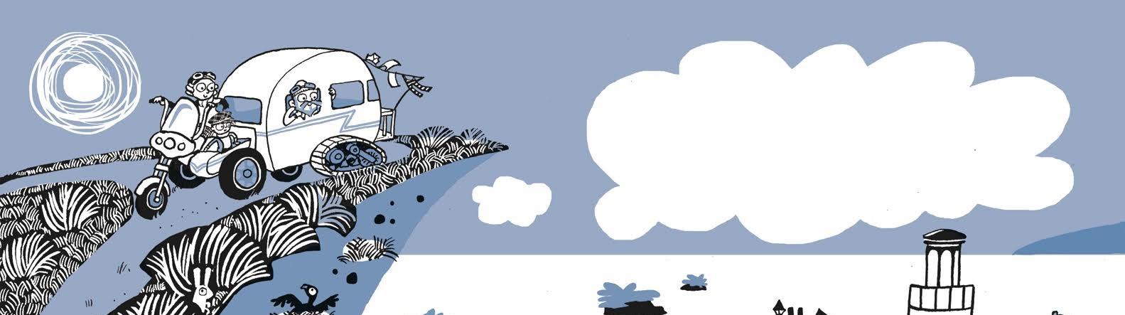 אוליבר והאיים הנודדים