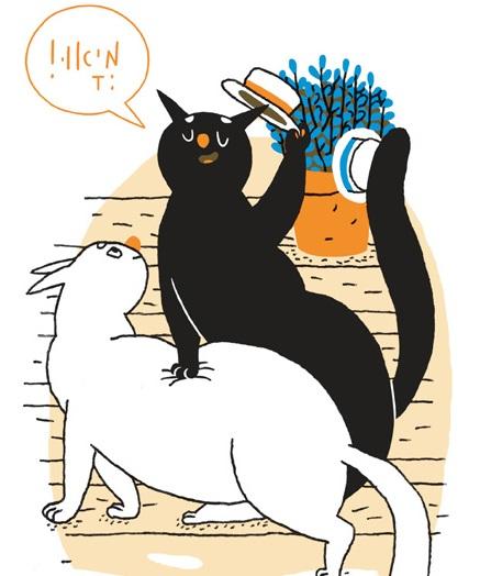 קישטה! - ייצוגי חתולים בקומיקס הישראלי